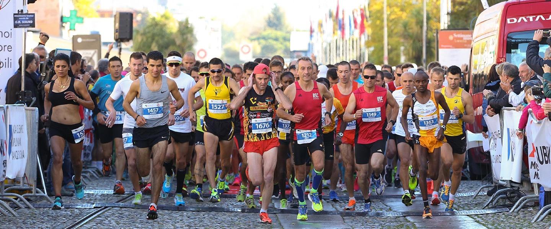 Partenza mezza maratona 2016 alm